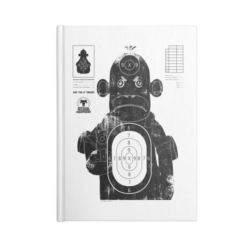 SOC target practice Accessories Lined Journal Notebook by The Mega Plush Shop