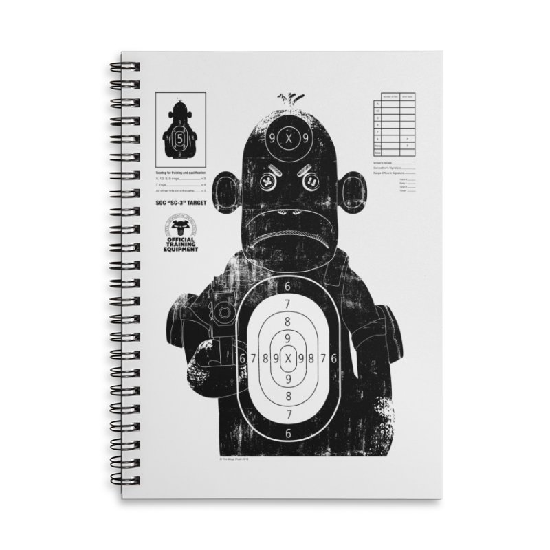 SOC target practice Accessories Lined Spiral Notebook by The Mega Plush Shop