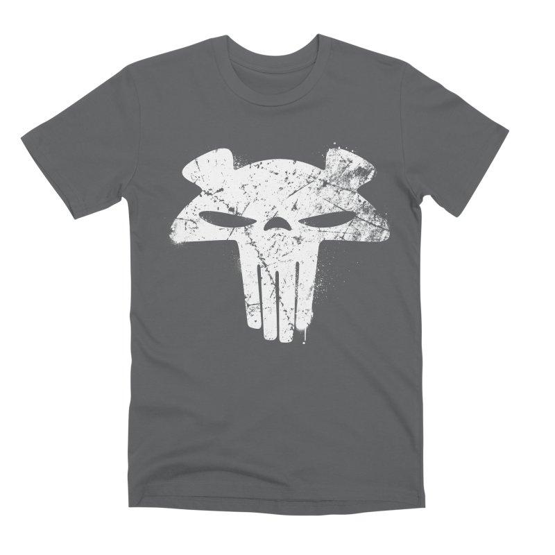 The Mega Plush - Mega Bear Logo Spray Men's Premium T-Shirt by The Mega Plush Shop