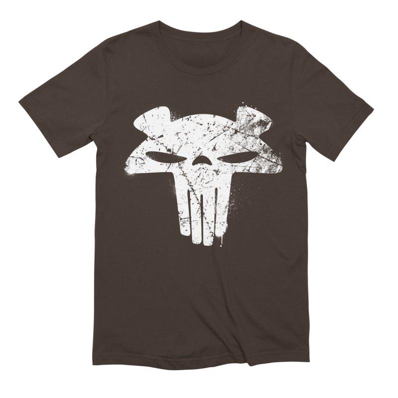 The Mega Plush - Mega Bear Logo Spray Men's Extra Soft T-Shirt by The Mega Plush Shop