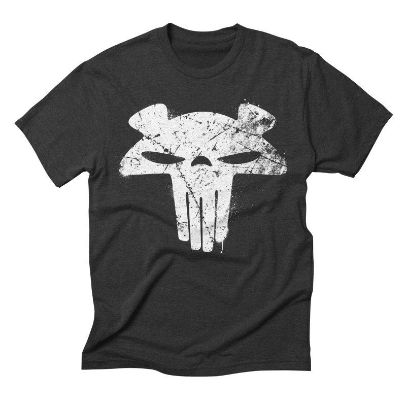 The Mega Plush - Mega Bear Logo Spray Men's Triblend T-shirt by The Mega Plush Shop