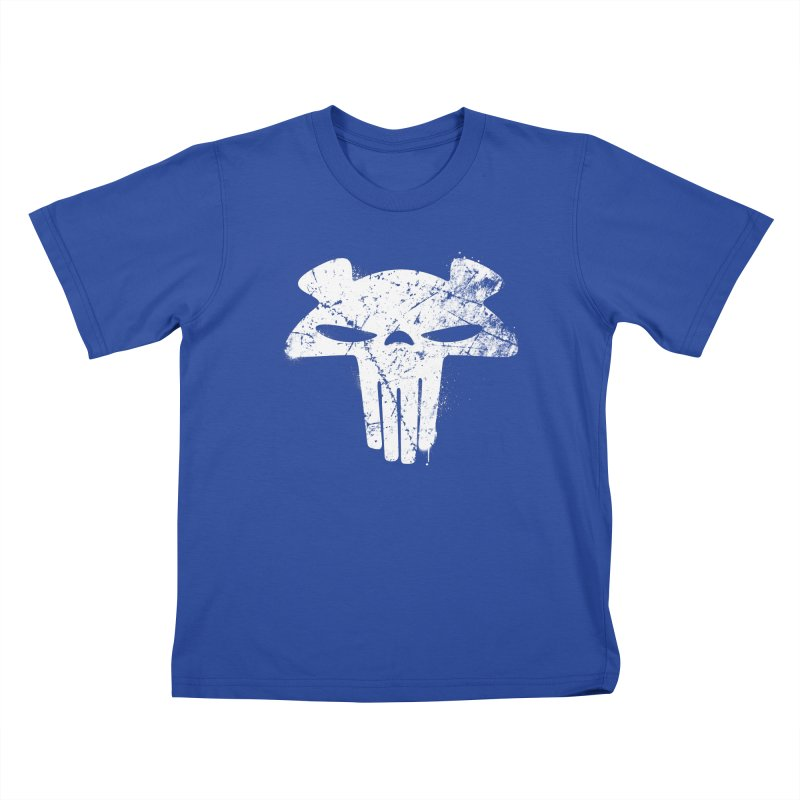 The Mega Plush - Mega Bear Logo Spray Kids T-shirt by The Mega Plush Shop
