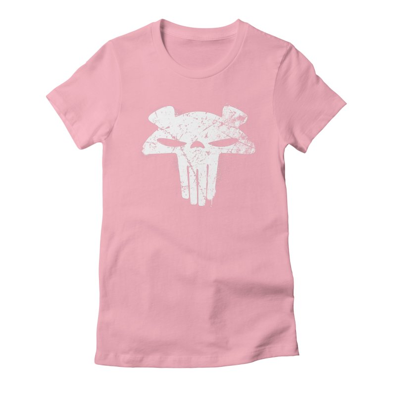 The Mega Plush - Mega Bear Logo Spray Women's Fitted T-Shirt by The Mega Plush Shop