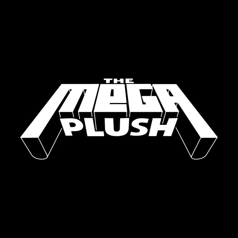 The Mega Plush - Text Logo Women's Fitted T-Shirt by The Mega Plush Shop