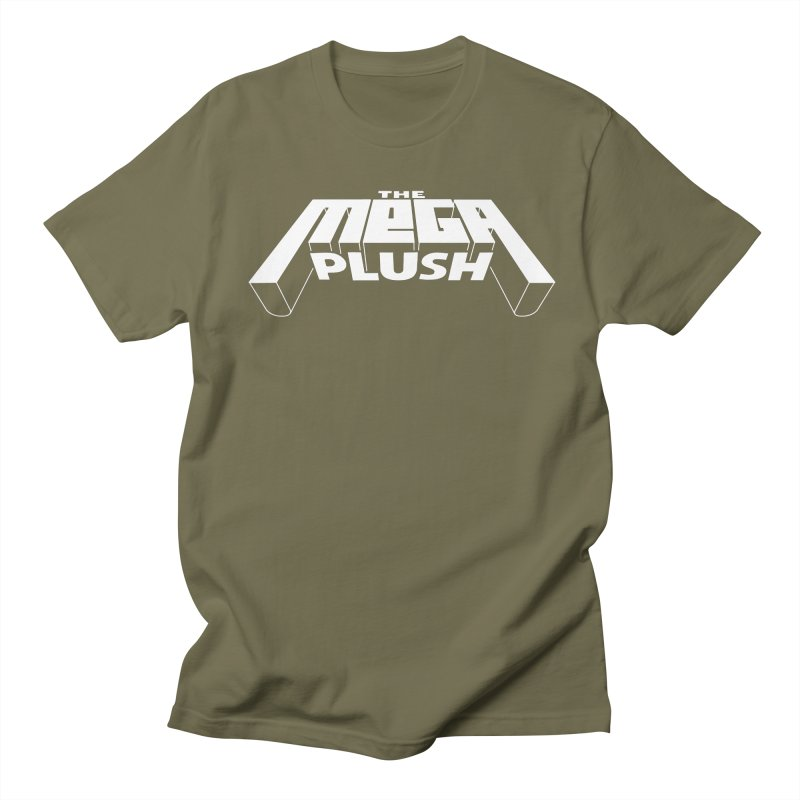 The Mega Plush - Text Logo Men's T-Shirt by The Mega Plush Shop