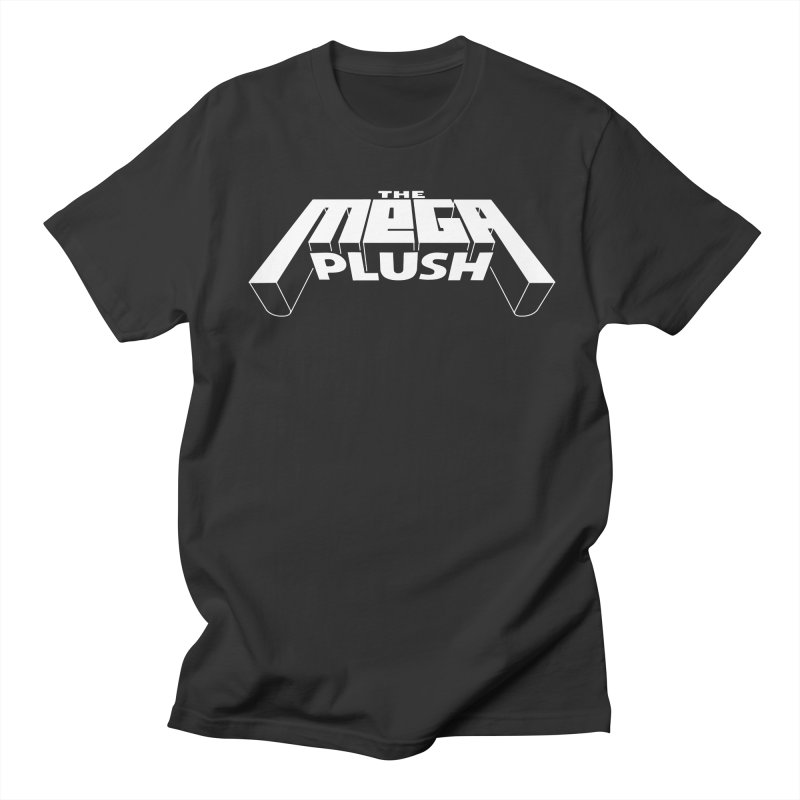 The Mega Plush - Text Logo Men's Regular T-Shirt by The Mega Plush Shop