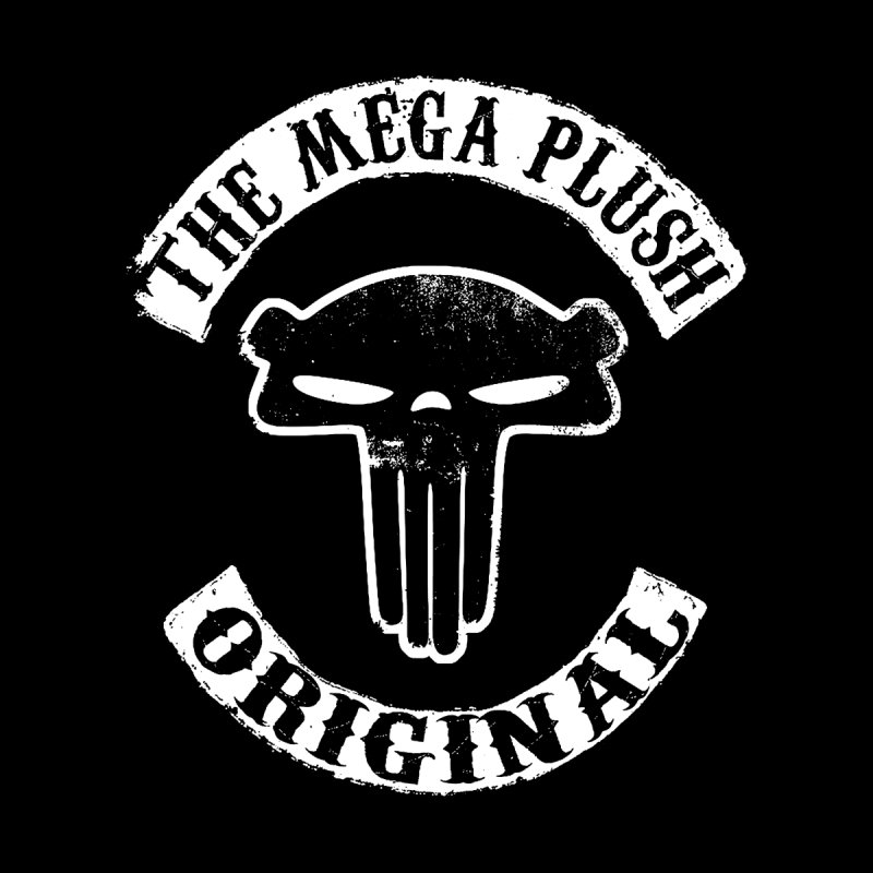 Mega Biker  Men's Pullover Hoody by The Mega Plush Shop