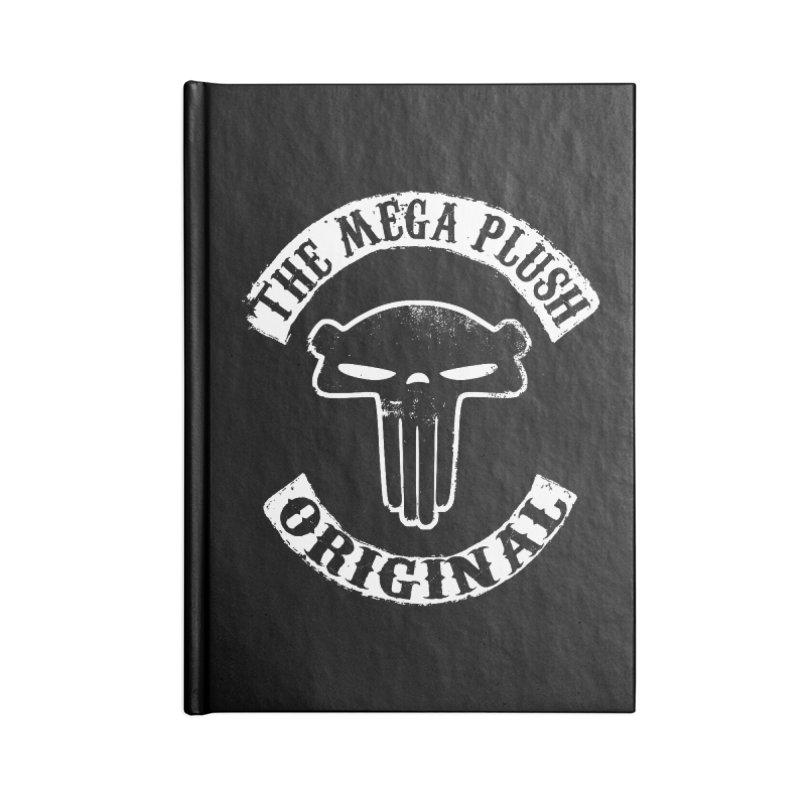 Mega Biker Accessories Lined Journal Notebook by The Mega Plush Shop