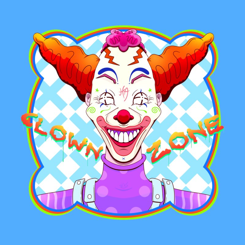 Clown Zone Men's T-Shirt by The Mind of J-Man