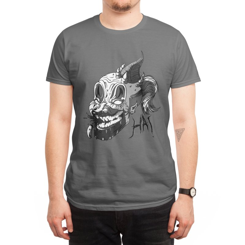 ClownStyles - Average Rock Music Enjoyer Men's T-Shirt by The Mind of J-Man