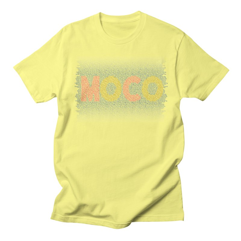 All The Towns in MoCo Men's T-Shirt by The MoCo Shop
