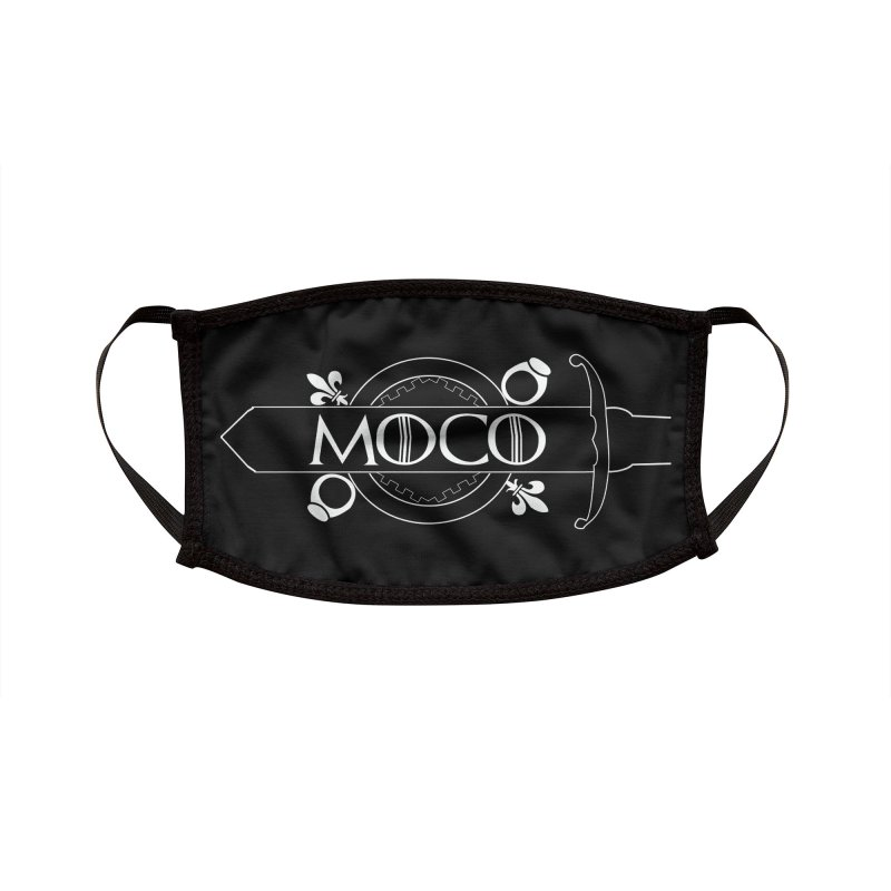 The MoCo King in the North Accessories Face Mask by The MoCo Shop