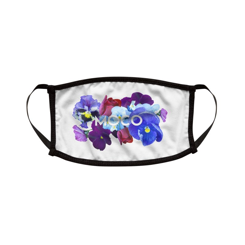 MoCo Floral Accessories Face Mask by The MoCo Shop