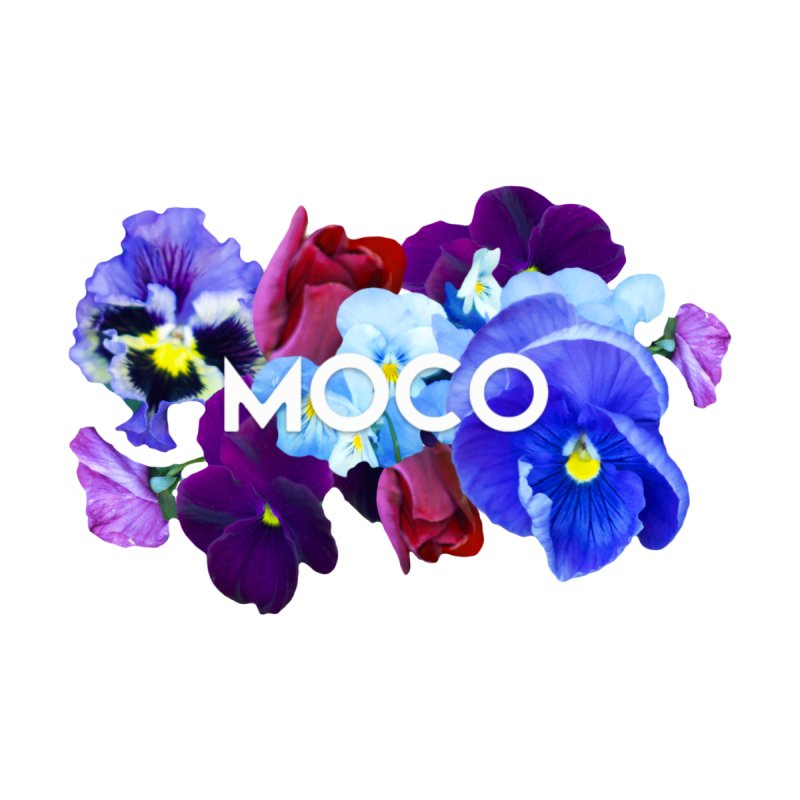 MoCo Floral Accessories Bag by The MoCo Shop