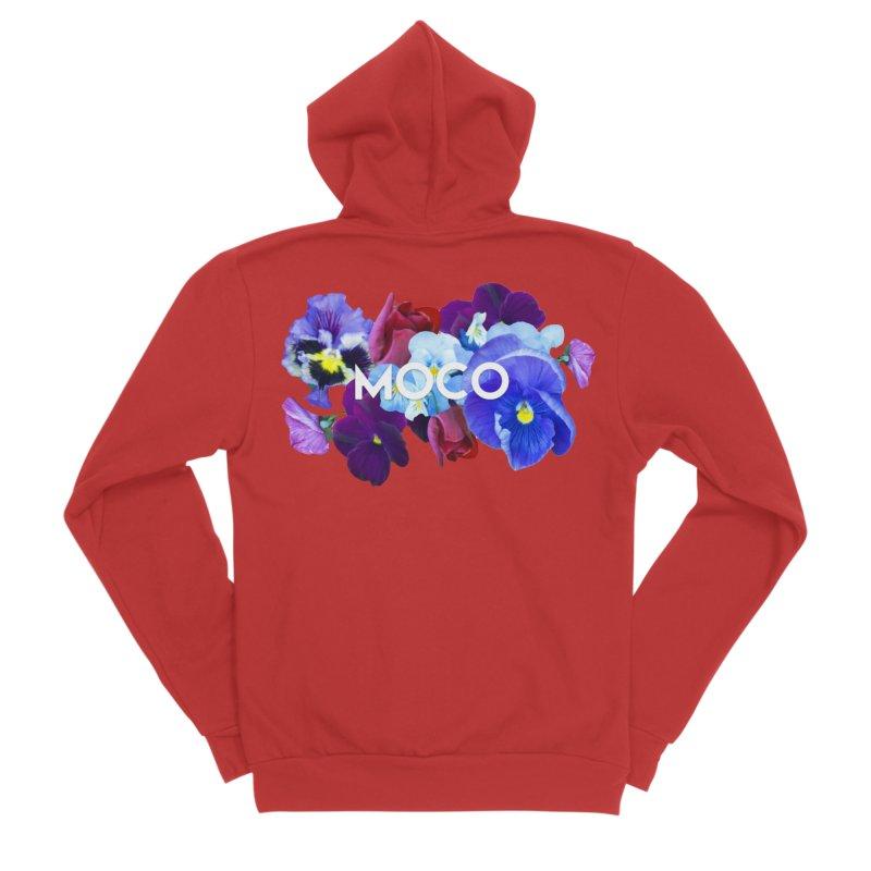 MoCo Floral Men's Zip-Up Hoody by The MoCo Shop