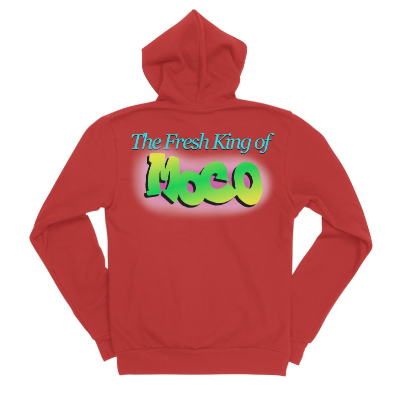 Fresh King of MoCo Men's Zip-Up Hoody by The MoCo Shop