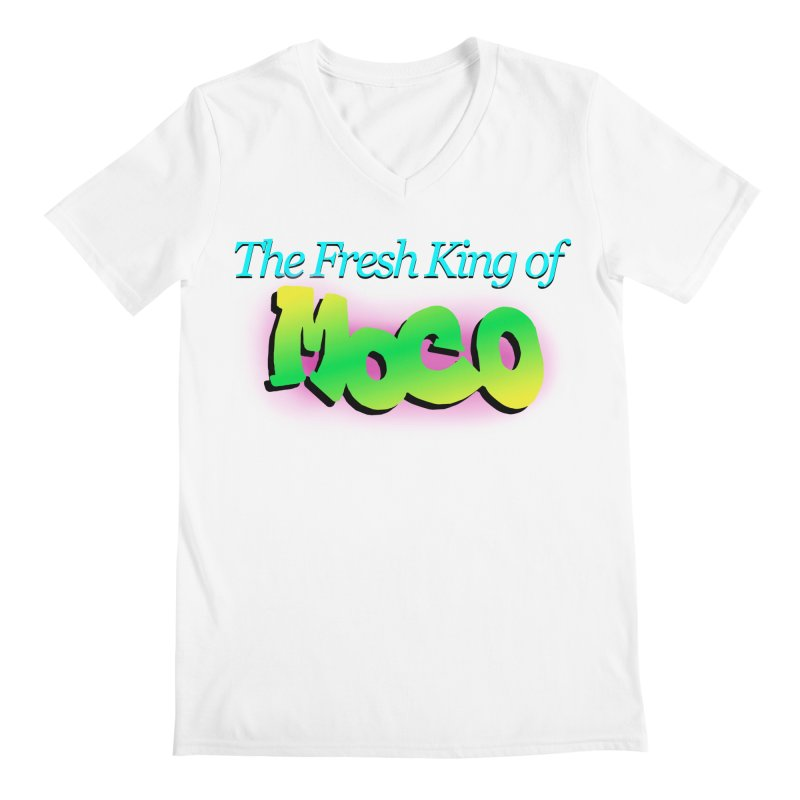 Fresh King of MoCo Men's V-Neck by The MoCo Shop