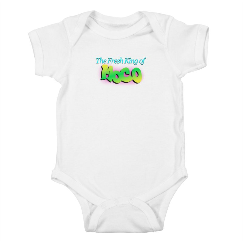 Fresh King of MoCo Kids Baby Bodysuit by The MoCo Shop