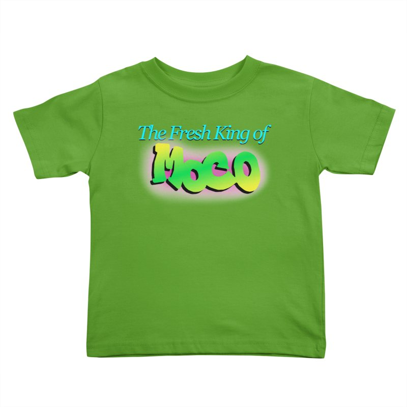Fresh King of MoCo Kids Toddler T-Shirt by The MoCo Shop