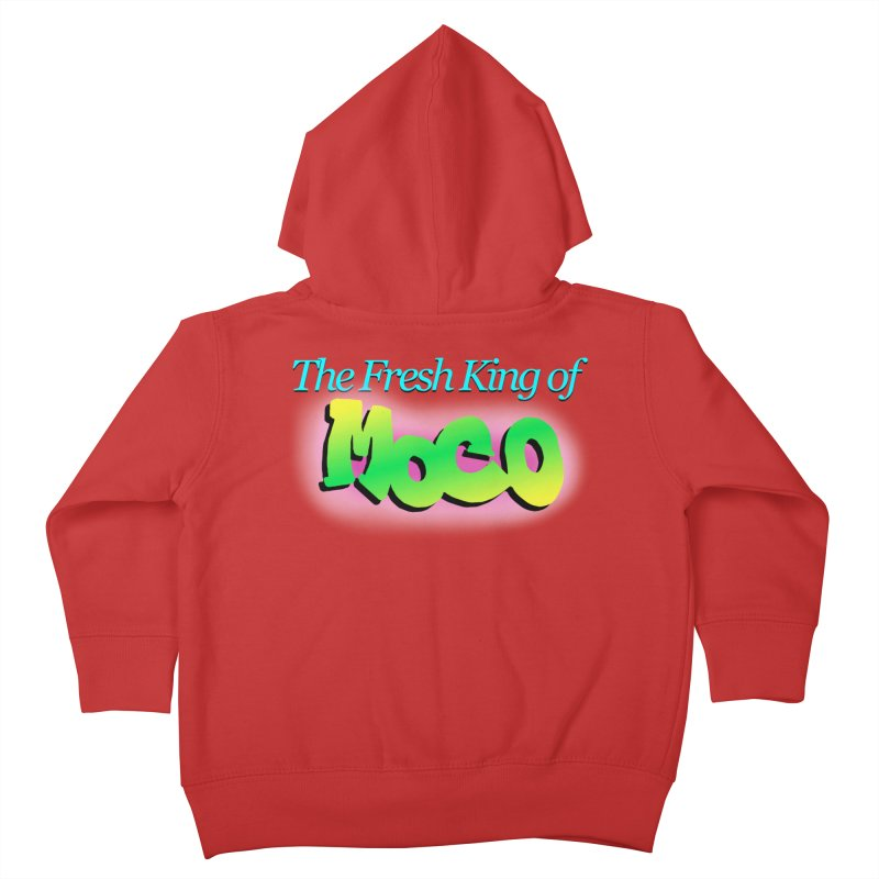 Fresh King of MoCo Kids Toddler Zip-Up Hoody by The MoCo Shop