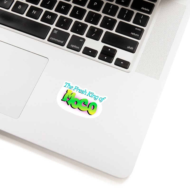 Fresh King of MoCo Accessories Sticker by The MoCo Shop