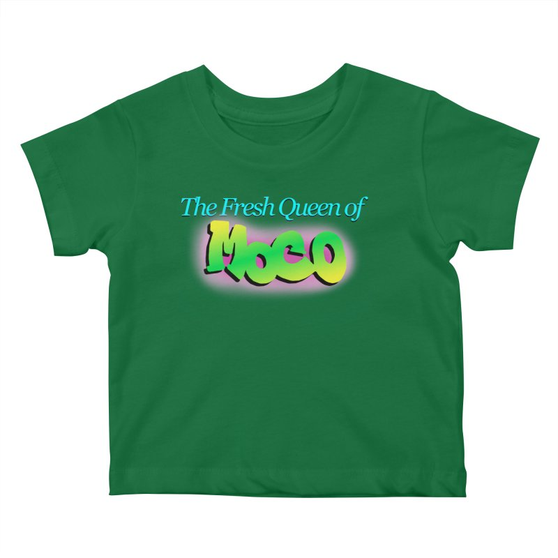 Fresh Queen of MoCo Kids Baby T-Shirt by The MoCo Shop