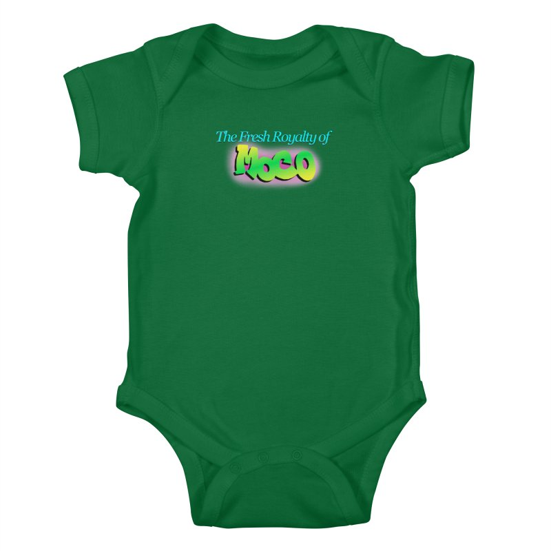 Fresh Royalty of MoCo Kids Baby Bodysuit by The MoCo Shop
