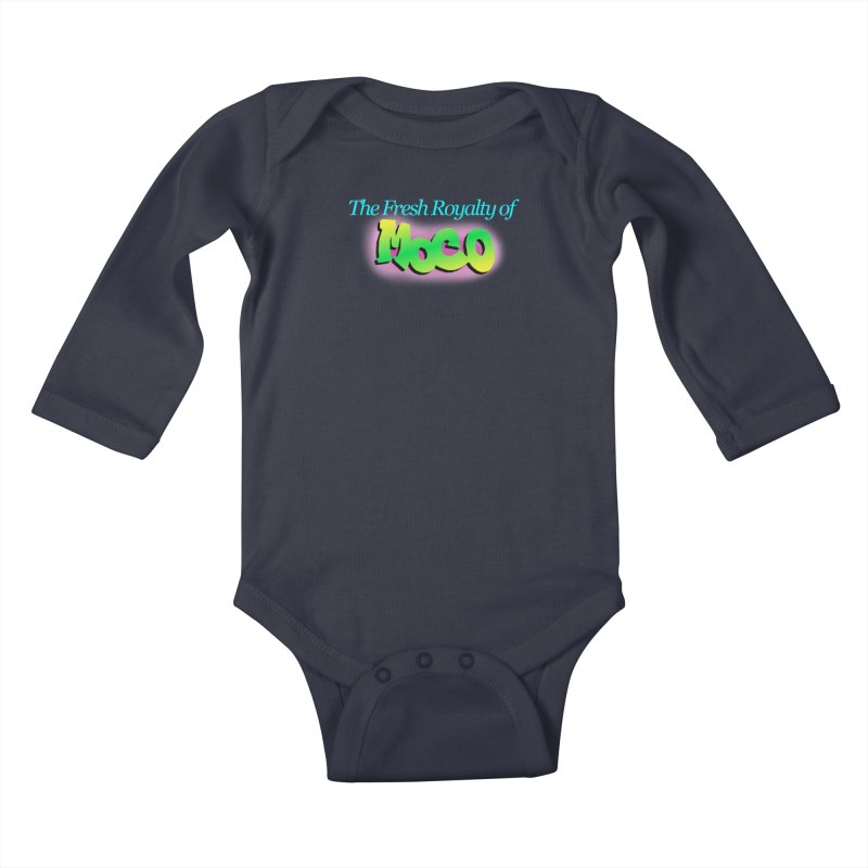 Fresh Royalty of MoCo Kids Baby Longsleeve Bodysuit by The MoCo Shop