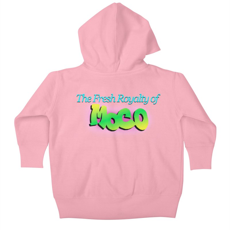 Fresh Royalty of MoCo Kids Baby Zip-Up Hoody by The MoCo Shop