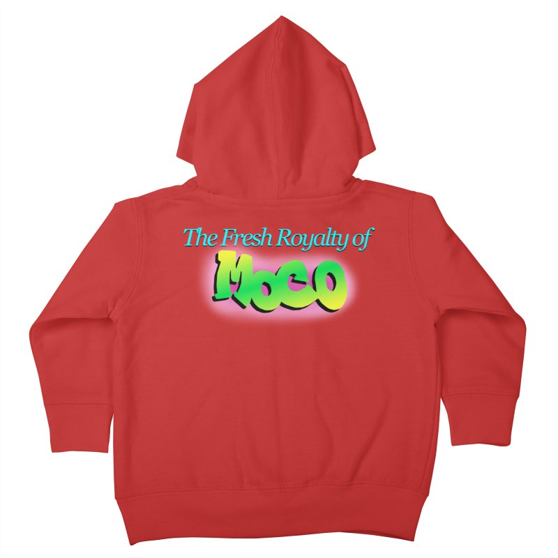 Fresh Royalty of MoCo Kids Toddler Zip-Up Hoody by The MoCo Shop