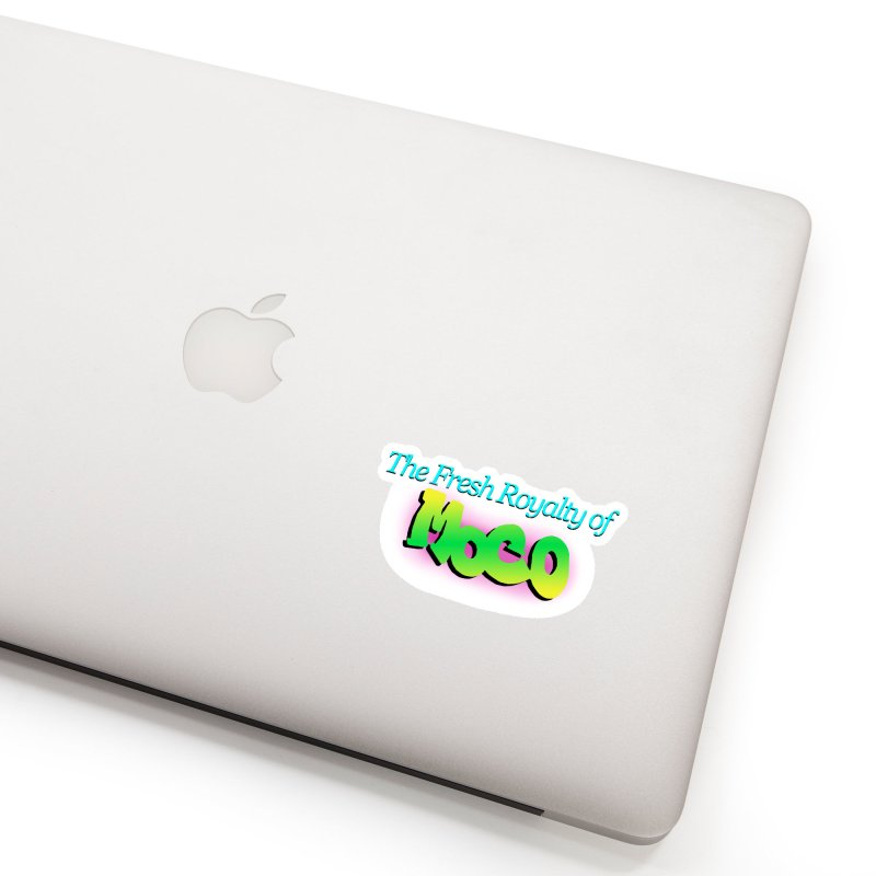 Fresh Royalty of MoCo Accessories Sticker by The MoCo Shop