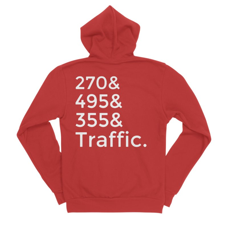 MoCo Traffic Men's Zip-Up Hoody by The MoCo Shop