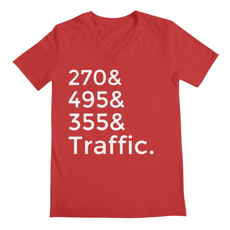 MoCo Traffic Men's V-Neck by The MoCo Shop
