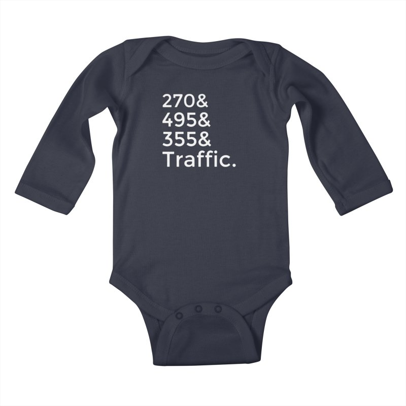 MoCo Traffic Kids Baby Longsleeve Bodysuit by The MoCo Shop