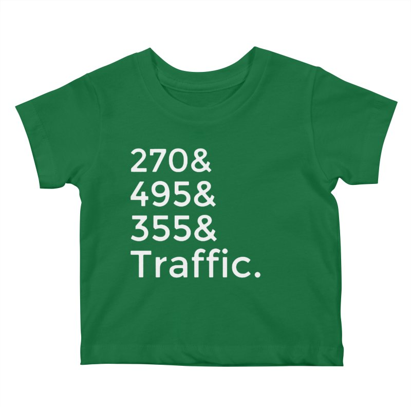 MoCo Traffic Kids Baby T-Shirt by The MoCo Shop