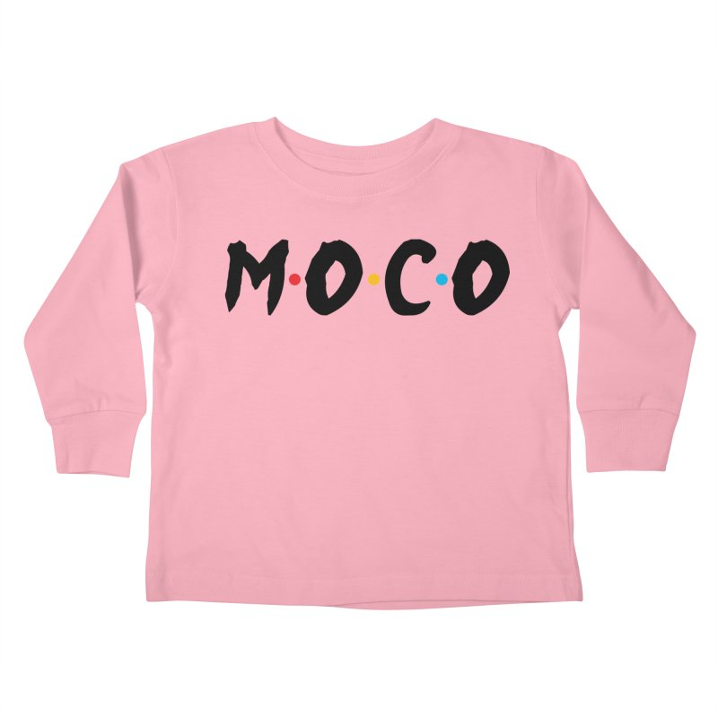 MoCo Friends Kids Toddler Longsleeve T-Shirt by The MoCo Shop