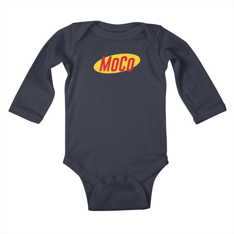 MoCo Shirt About Nothing Kids Baby Longsleeve Bodysuit by The MoCo Shop
