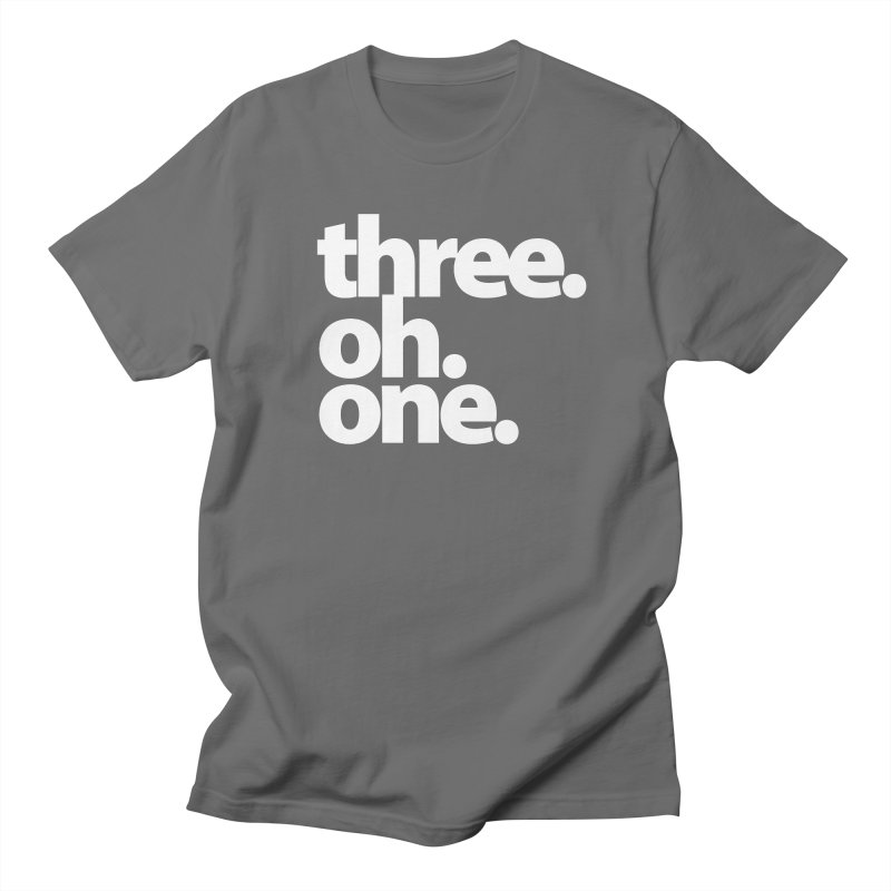 Three. Oh. One. Men's T-Shirt by The MoCo Shop