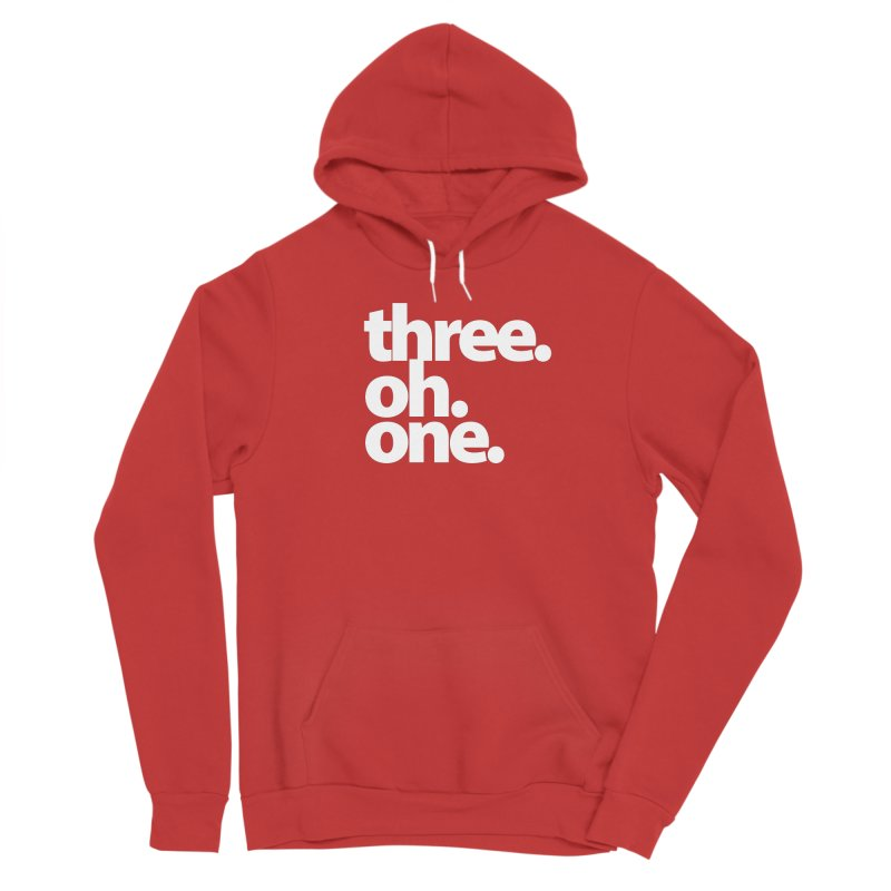 Three. Oh. One. Women's Pullover Hoody by The MoCo Shop