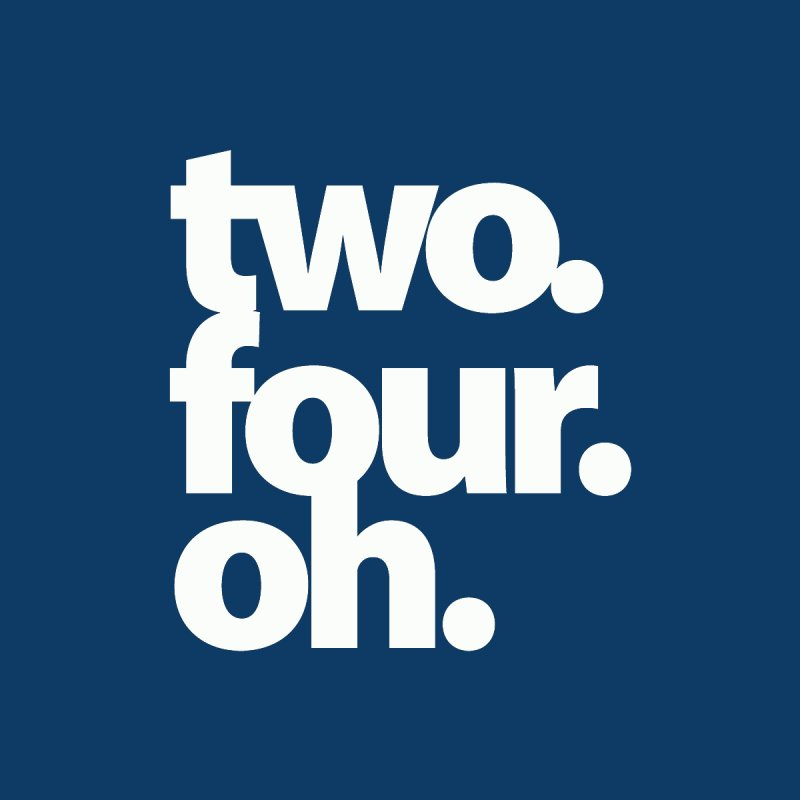 two. four. oh. Men's T-Shirt by The MoCo Shop