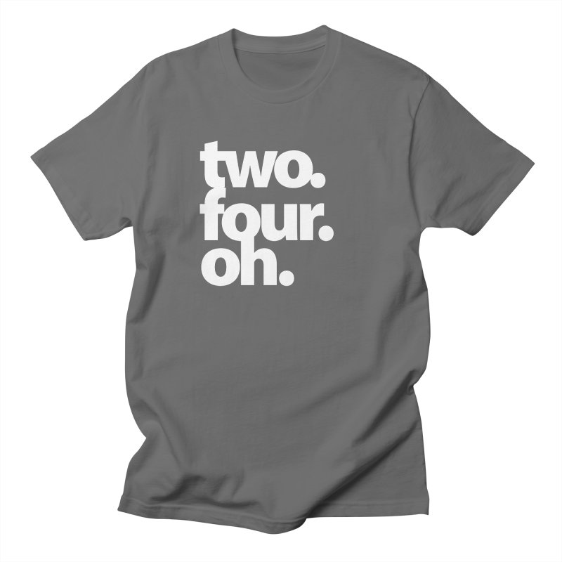 two. four. oh. Women's T-Shirt by The MoCo Shop