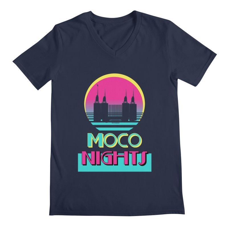 MoCo Nights Men's V-Neck by The MoCo Shop