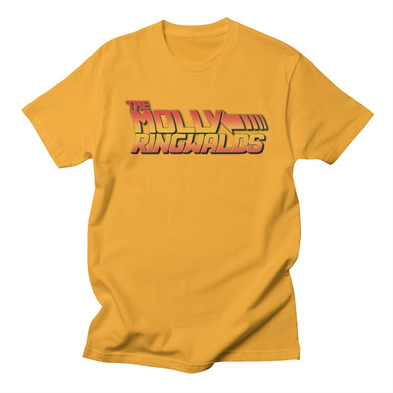 Original Logo: Men's Tees in Men's Regular T-Shirt Gold by The Molly Ringwalds Merch Store