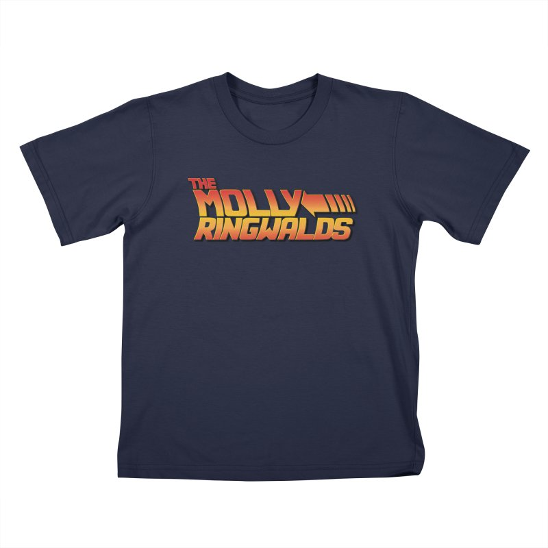 Original Logo: Kids in Kids T-Shirt Navy by The Molly Ringwalds Merch Store