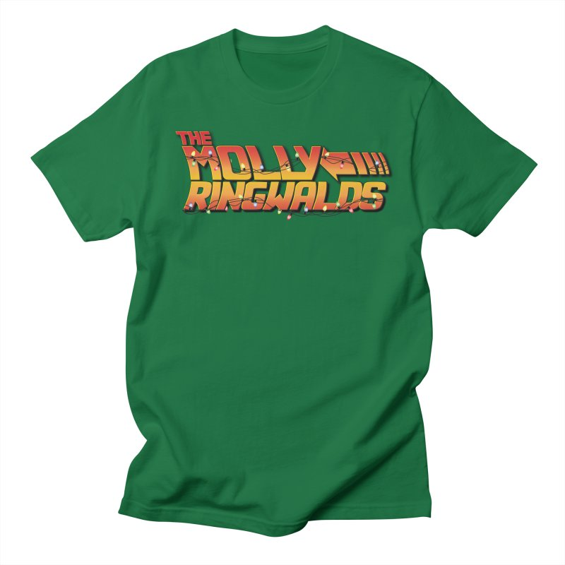 Holiday Lights: Adult Tees in Women's Regular Unisex T-Shirt Kelly Green by The Molly Ringwalds Merch Store