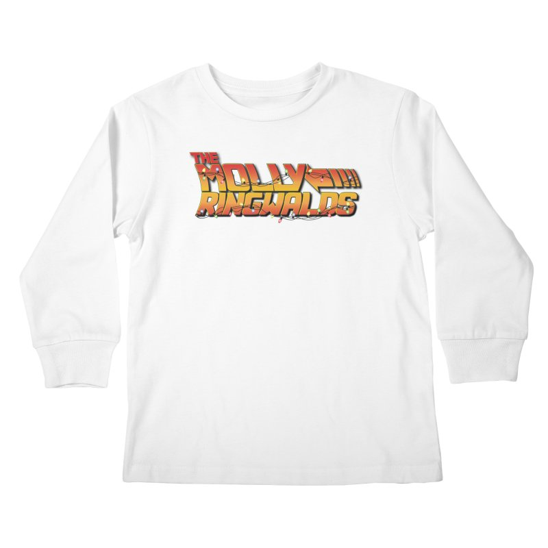 Holiday Lights: Kids Tees in Kids Longsleeve T-Shirt White by The Molly Ringwalds Merch Store