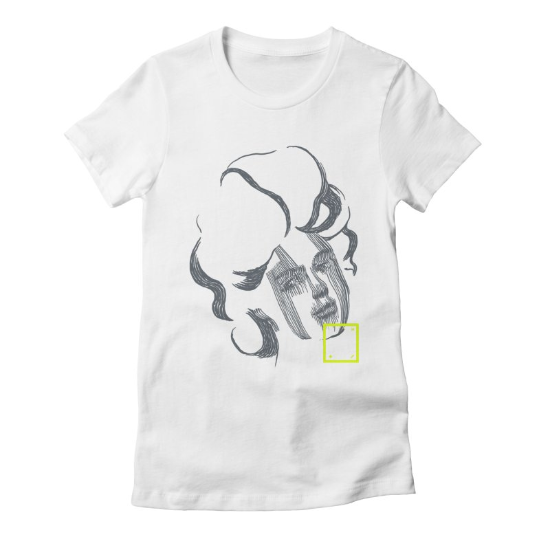 Hija Women's Fitted T-Shirt by Myno's Artist Shop