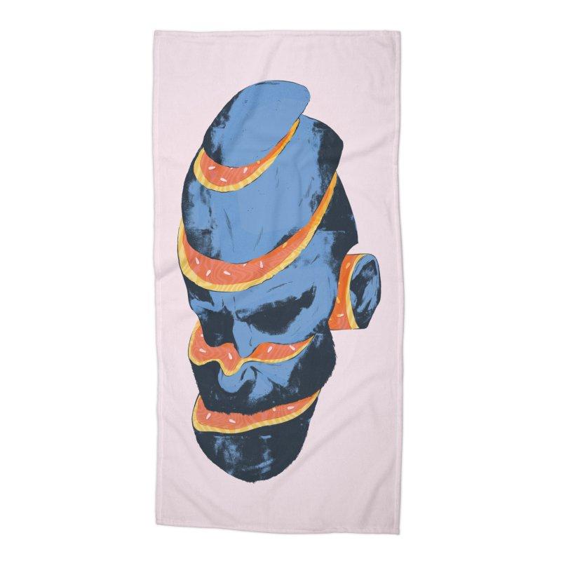 Juan Accessories Beach Towel by Myno's Artist Shop