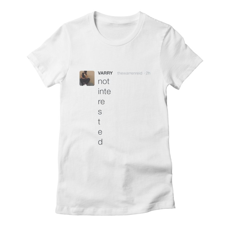 Varry Women's Fitted T-Shirt by Myno's Artist Shop