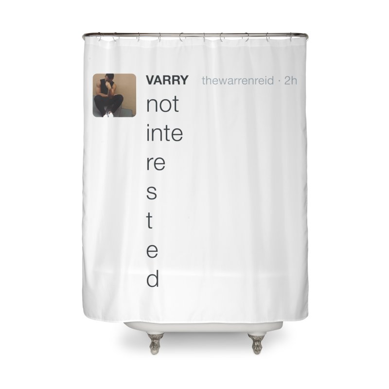 Varry Home Shower Curtain by Myno's Artist Shop